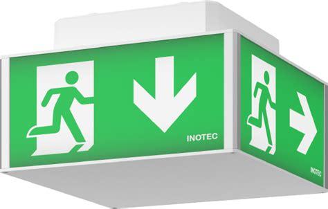 Lu Emergency Exit system luminaires
