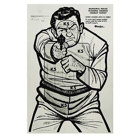printable bad guy targets safariland bad guy targets 100 pack 623331 shooting