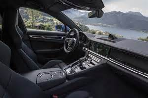 Interior Of Porsche Panamera 2017 Porsche Panamera 4s Drive Review Automobile