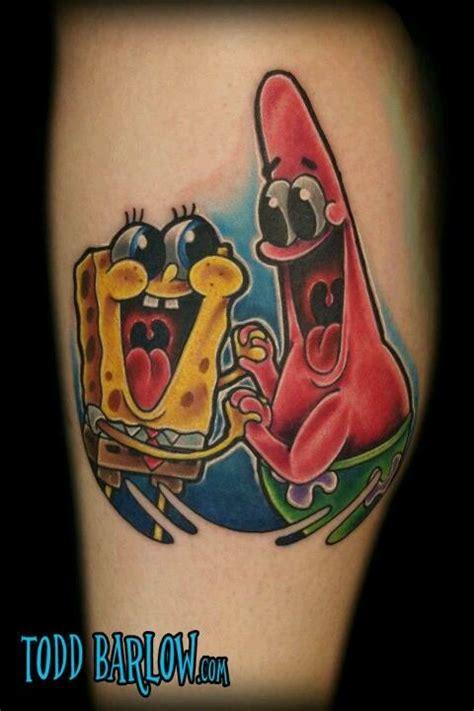 spongebob tattoos 25 best ideas about spongebob on