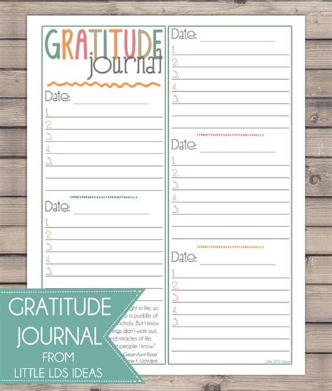 free printable gratitude journal choose happiness and to help you do that print out this