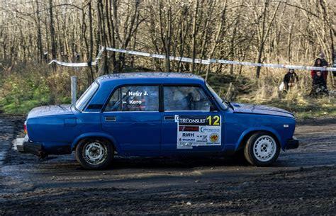 lada e 27 lada 2107 auf dem rallya sprint gala am 27 12 2015