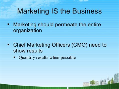 Market Orientation Mba by What Is Marketing Ppt Mba