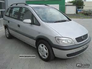 Opel Zafira 2000 2000 Opel Zafira 1 6 Comfort Air Conditioning 1 Car