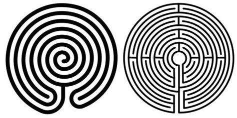 two labyrinths craft ideas pinterest walking blog