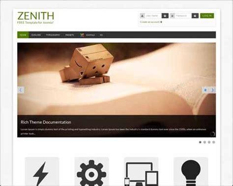 template joomla zenith joomla の無料テンプレート123 レスポンシブwebデザイン対応もあり co jin