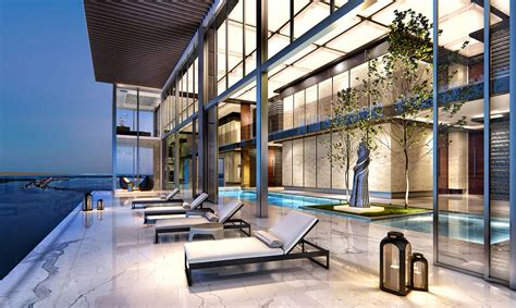 luxury penthouse with terrace and swimming pool for sale in tribeca 42m penthouse at echo brickell may be divided into