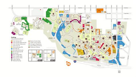 utep map cus map utep visitor s guide