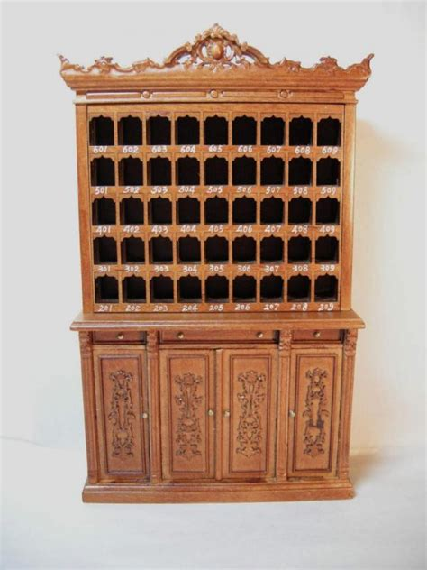 doll house makers dollhouse famous maker furniture 3506 hotel cabinet
