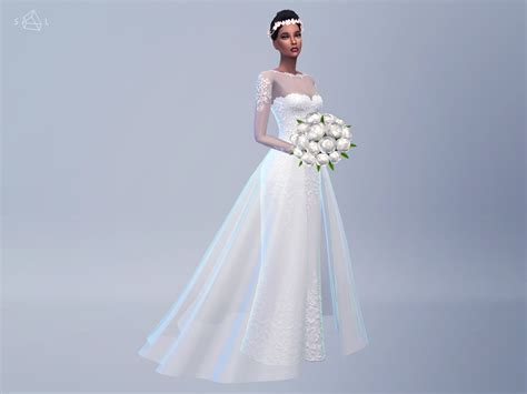 Wedding Dress The Sims 4 by Starlord Sims Beocreations S New Wedding Dress Sims