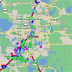 map of florida resorts object moved