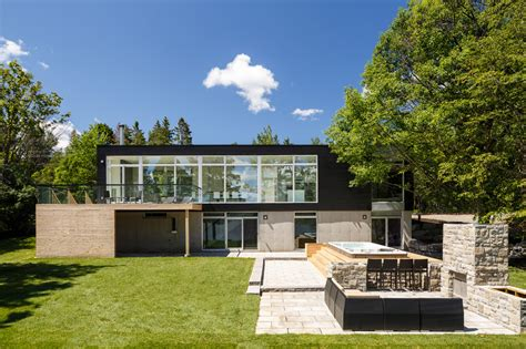modern riverside home by christopher simmonds architect