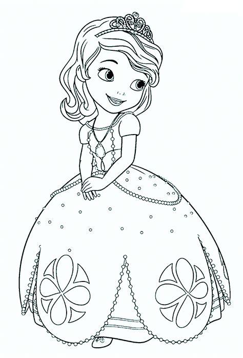 beautiful princess sofia coloring pages hellokids com dibujos de princesas disney para colorear e imprimir gratis