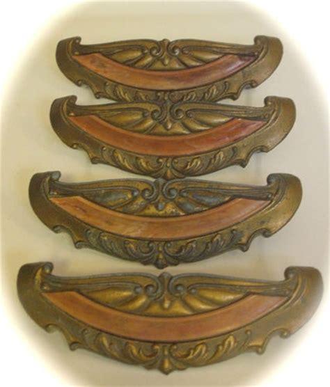 12 1920 s deco waterfall bakelite antique drawer