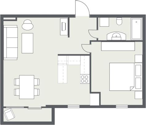2d Floor Plan Software by 2d Gray Floor Plan Roomsketcher Blog