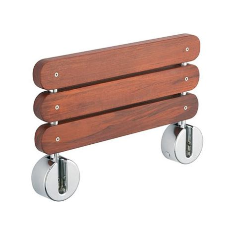 tre mercati miscellaneous folding wooden shower seat