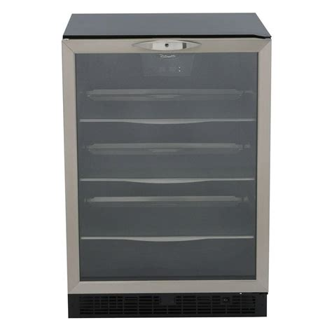 built in beverage center danby silhouette 112 can built in beverage center dbc514bls the home depot