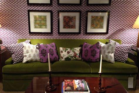 purple and green home decor spotlight on colour powerful purple livinghouse