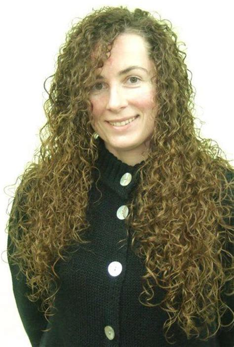 Tight Perms For Long Hair | tight curly perm in long hair front perms pinterest