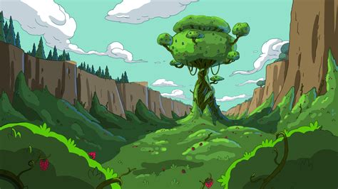 lavalle lee s art animations animation world network paisajes de quot hora de aventura quot im 225 genes taringa