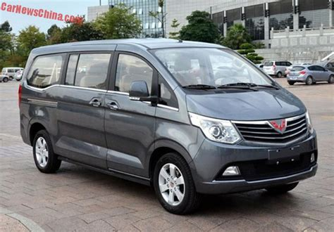 wuling cars wuling zhengcheng mpv launched on the car market