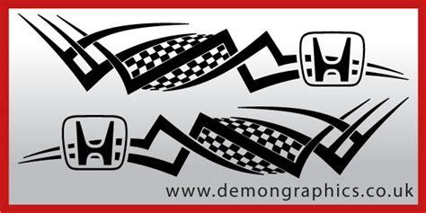 Tribal Sticker Honda by Tribal Decal Honda Tribal Decal Honda 163 9 99 Car