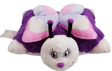 pillow pets mini pink butterfly at mighty ape nz