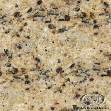 Light Cherry Kitchen Cabinets by New Venetian Gold Granite Kitchen Countertop Ideas