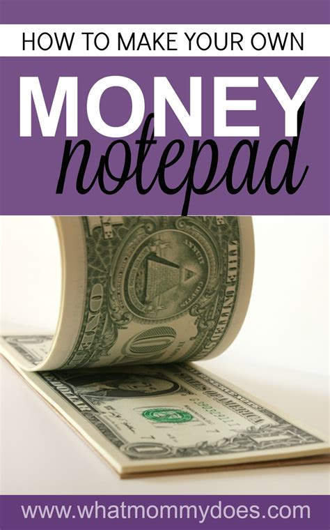 Where Can I Get Cash For My Gift Card - how to make a money notepad the coolest gift idea for teens