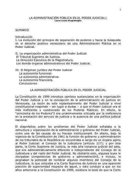 carta poder judicial ejemplo 01 administraci 243 n p 250 blica en el poder judicial