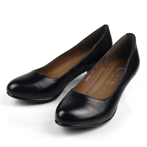 ladies black comfortable work shoes size 34 41 office lady shoes women work shoes female black