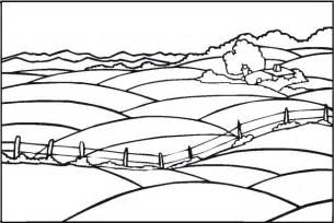 Coloring Page Landscapes Coloring Pages Simple Landscape Coloring Pages 2 Coloringstar