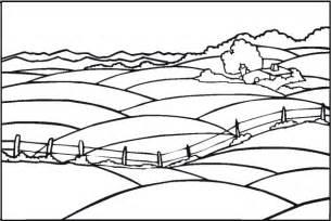 Landscape Coloring Sheets Printable Coloring Simple Landscape Coloring Pages 2 Coloringstar