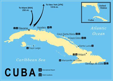 cuba on a map cuba map cuba