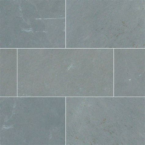 12x12 gauged montauk blue slate tile sle traditional wall and floor tile by tilesbay