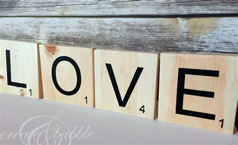 diy scrabble letters how to make scrabble pieces