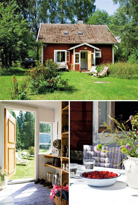 Cottages In Sweden by A Lovely Cottage In Sm 229 Land Sweden The Style Files