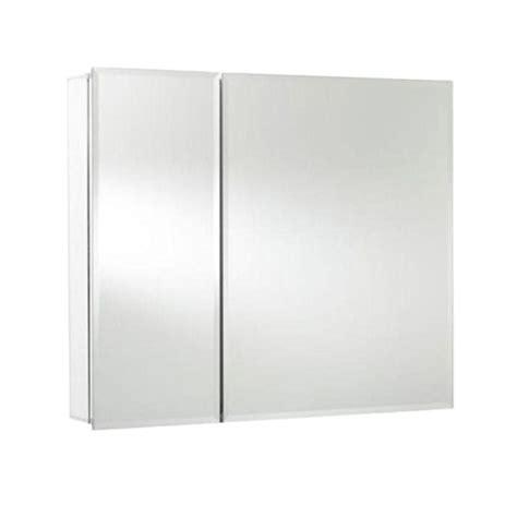 surface mount medicine cabinet 3 inch depth croydex halton 26 inch x 30 inch bi view recessed or