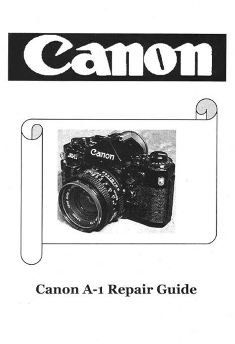 Canon A 1 Service Manual Pdf Download