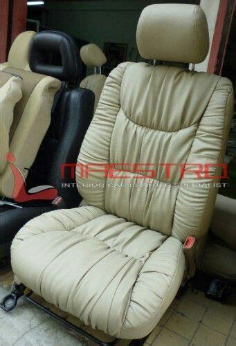 Custom Bahan Kulit Coklat Ring Gold jok mobil fortuner trd model garson atau kerut sofa jok mobil sofas and models