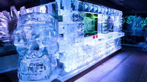 Bar Pub Tables Icebar London O 249 Boire Et Manger Visitlondon Com