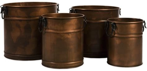 Copper Planters Uk by Garden Decor Copper Planters A Gardener S Notebook