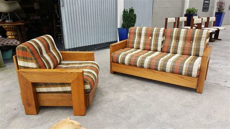 1970s living room furniture howard furniture mid century modern sofa and lounge chair for sale at 1stdibs
