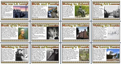 biography posters ks2 17 best images about ls lowry for y4 y6 on pinterest