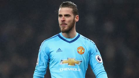 Di Gea by David De Gea On Utd Contract But Says He Is At