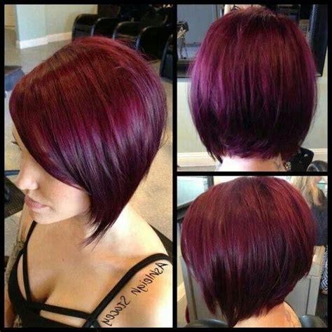 plum burgyndy bob hairstyle plum burgyndy bob hairstyle 20 photo of burgundy short