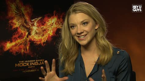 Natalie Dormer In Hunger Natalie Dormer The Hunger Mockingjay Part 2