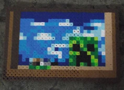 Painting Minecraft by Minecraft Creeper Painting By Themeltedgeek On Deviantart