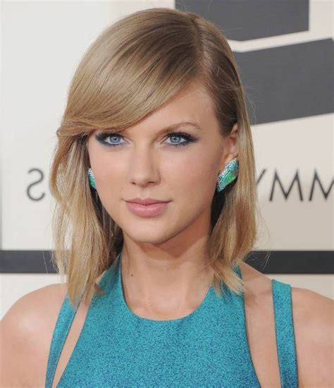 taylor swift wavy bob 15 asymmetrical bob haircut designs ideas hairstyle