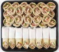 Order sheet for party trays is available here